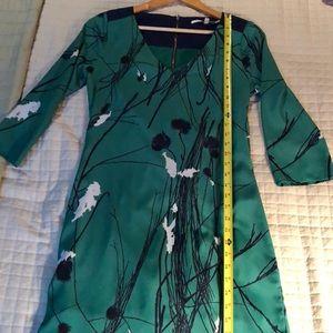 Dresses & Skirts - Green/Blue Patterned Dress